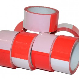 6 Rubalises Rouge/Blanc - Destockage